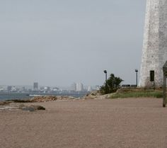 Lighthouse Park, New Haven, CT this past Saturday September 10, 2016. I was trying to capture both the Lighthouse and the view of Downtown New Haven. #lighthousepark #newhaven