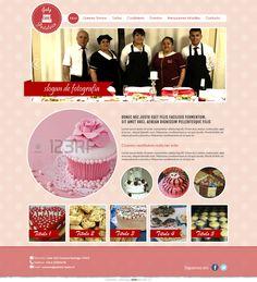 Maqueta de Sitio Web para pasteleria