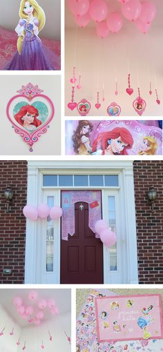 "Disney Princess #DreamParty ""Floating Chandelier"" and other decorations #shop #cbias"
