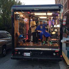 Awesome mobile barbershop!