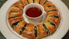 Spinach Dip Wreath Recipe   The Chew - ABC.com