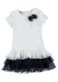 Geweldig, dit feestelijk jurkje!! #KikiBo #Sarabanda www.kikibo.nl