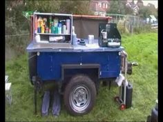 Bugout trailer in action
