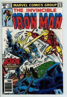Iron Man 124 (VF- 7.5)