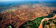 La ciudad de los anillos. Santa Cruz de la Sierra - Bolivia.  #Scz