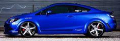 Tricked Out Showkase - A Custom Car | Sport Truck | SUV | Exotic | Tuner | Blog: Wild Ultrasonic Blue Pearl 2012 Honda Civic Si