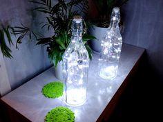 Synergia Przyjemności: LAMPKA - Świetliki w butelce