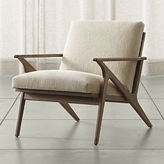 NEW! From Crate and Barrel – the Cavett chair. LOVE!!!!!