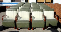 Retro lounge chairs... The store looks like they have great retro furniture