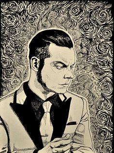 Jack White by ElaRaczyk.deviantart.com on @DeviantArt