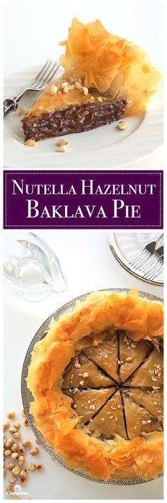 Nutella Hazelnut Baklava Pie                                                                                                                                                                                 More