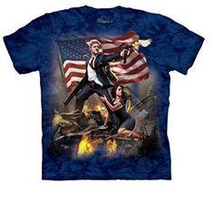 Gun Blazing Clinton T-Shirt