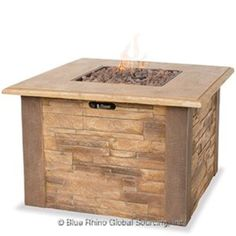 Blue Rhino Uniflame GAD1338SP Gas Outdoor Fireplace – The Fire Pits Store