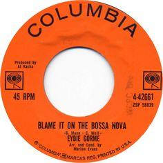 Blame It On the Bossa Nova - Eydie Gorme