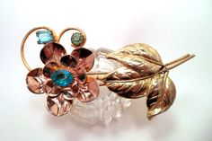 Blue and Gold Vintage and Old by Kathleen Persiani on Etsy