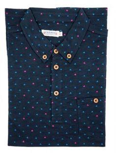 Farah 1920 Men's Haverford Polo Shirt True Navy