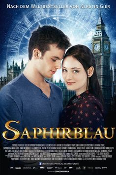 It\'s finally here people, Saphirblau\'s Official Movie Poster.- Rubinrot & Saphirblau - Alle Bilder zum Film - Bilder - Mädchen.de