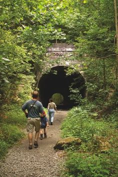 The Moonville Tunnel is said to be haunted. Do you believe in ghosts? Vinton County, Ohio.