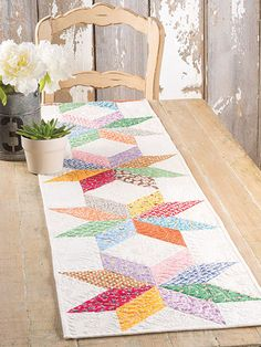 Stars Table Runner
