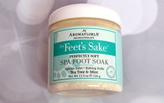 Aromafloria For Feets Sake Review and Giveaway #FAChristmas - It's Free At Last - My Life's Journey