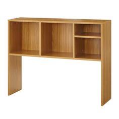 DormCo The College Cube - Desk Bookshelf - Beech (Natural Wood) Bookshelf Desk, Desk Hutch, Bookshelves, Desk Cubby, Cubby Storage, Storage Spaces, Record Storage, Storage Ideas, Cube Desk