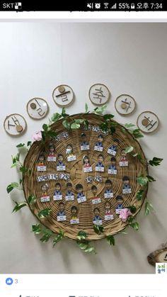 Outdoor Classroom, Classroom Decor, Board For Kids, Diy Wedding Flowers, Flower Garlands, Learning Tools, Natural Materials, Preschool Activities, Diy And Crafts