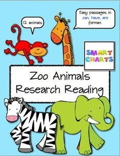 Zoo Animals Research Reading $2