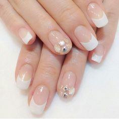 white french w/ shells