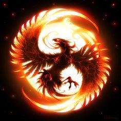 A phoenix. Because I'm a badass.