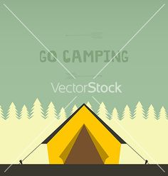 Camping vector by Favete on VectorStock®
