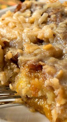 Texas Tornado Cake - delicious, Southern-style dessert recipe!