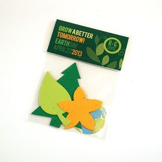 Plantable Earth Day Cards & Gifts (min order 100) - as low as $1.81: A very fitting giveaway for Earth Day or any time your promotion calls for a theme of growing or nature. This shape pack contains four seed paper pieces: tree, leaf, flower and printed Earth. The lucky recipients can plant the shapes and grow wildflowers to beautify our planet. The topper is custom-printed both front and back.