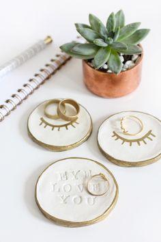 DIY Air Dry Clay Ring Dish