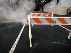 Steam caution