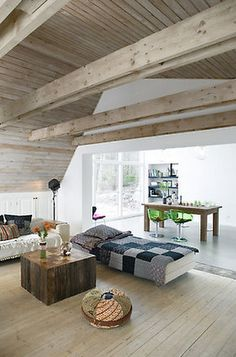 In theory our house could look like this, if the dog hadn't eaten the furniture, and if it wasn't stuffed with Playmobile and Peppa Pig.