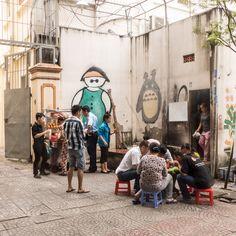 Saigon Boulevardkaffee auf vietnamesisch Street View, Viajes, Pictures
