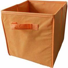 Non-Woven Storage Box - Orange from Homebase.co.uk