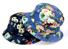 flower bucket hat