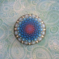 Mandala Stone by KimberlyVallee on Etsy