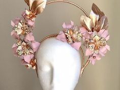 Millinery Market - Hire or Buy Beautiful Handcrafted Millinery Fascinator Headband, Floral Headpiece, Fascinators, Demon Halloween Costume, Stella Rose, Girls Dance Costumes, Im So Fancy, Fashion Vocabulary, Headband Styles