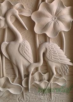 Ambassador dreams avkartzanah of the grc interfaces villas Plaster Sculpture, Plaster Art, Wood Sculpture, Wall Sculptures, Wood Carving Patterns, Wood Carving Art, Stone Carving, Wood Art, Clay Wall Art