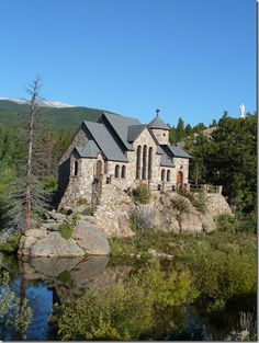 After having ivf we went into this church where our prayers were answered. St Malo Church and Retreat, Colorado