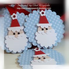 Me, My Stamps and I: Fa La La Christmas- Santa