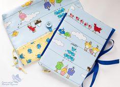 "мое рукоделие:): Комплект ""Веселые птички""  notebook, bookbinding"