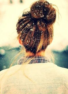 Omg i love buns in the winter. IM SO OBSESSED!