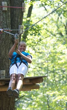 Send them on an adventure through the trees at CBK Mountain Adventures! Book now for the treetops course opening soon! Pocono Mountains