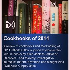 Listen again to when I appeared on the BBC Radio 4 Food Programme talking about the best cookbooks of 2014! http://www.bbc.co.uk/programmes/b04tckjh