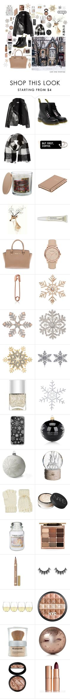 """""""Christmas is coming..."""" by c-b-bligaard ❤ liked on Polyvore featuring Dr. Martens, Barneys New York, SONOMA Goods for Life, Kate Spade, OPI, Michael Kors, Burberry, John Lewis, Northlight Homestore and Anne Klein"""