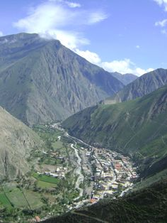 Churin, Peru. Healing hot springs we traveled to when I was 17 yrs old.