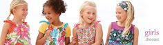 pillowcase dresses from Hanna Andersson... (featuring my granddaughter!)